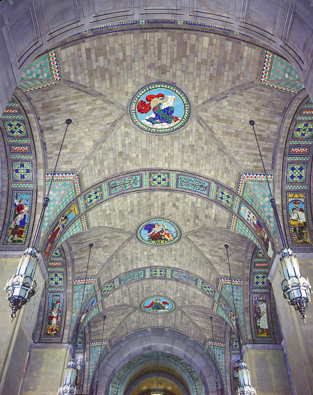 Foyer Ceiling Mosaics