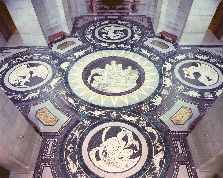 Rotunda Floor Mosaics