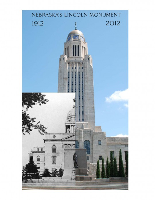Comparing the Lincoln Monument after 100 years