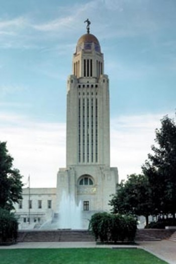 Bertram Goodhue designed Nebraska's third Capitol as a monument to Nebraska's heritage
